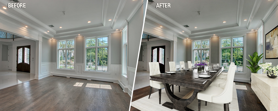 Dining Room Virtual Staging